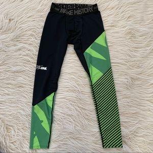 7cc6629dbcee7 Flag Nor Fail leggings black green tight work out